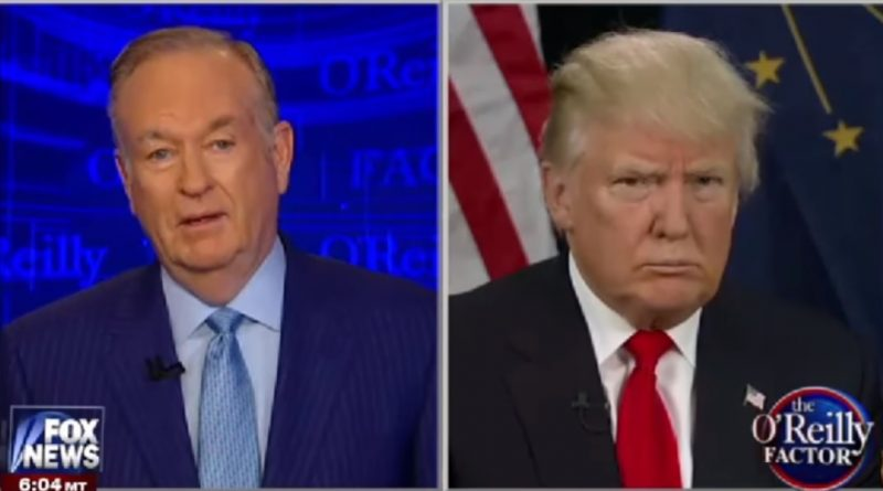 Trump-O'Reilly-Crooked-Hillary